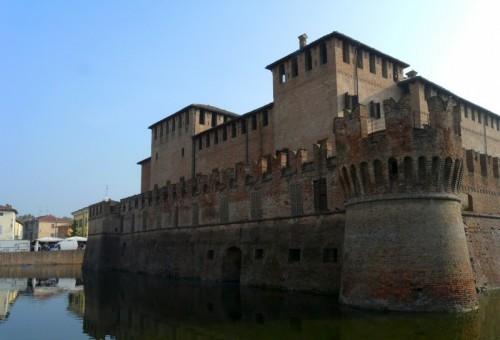 Fontanellato - Rocca Sanvitale il dì di mercato