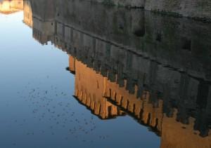 Riflessi della Rocca Sanvitale (Fontanellato - PR)