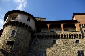 Uno scorcio della Rocca Ariostesca