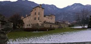 Panoramica castello di Issogne