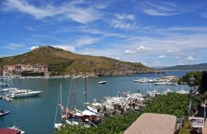 Bel tempo su Porto Ercole