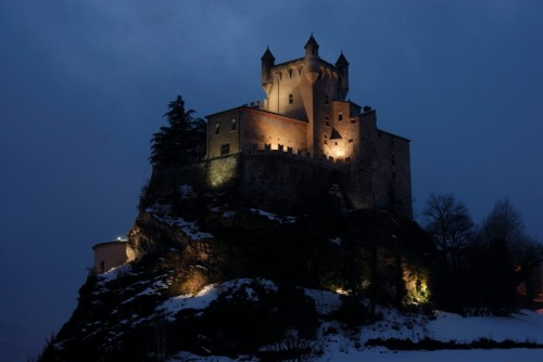 Saint-Pierre - Il Castello di Saint Pierre