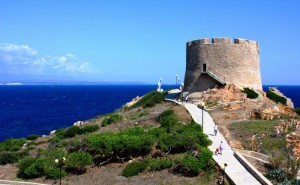 """la """"Turri"""" che guarda la Corsica"""