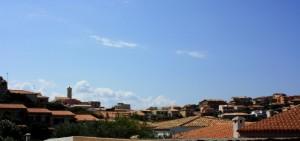 tra i tetti di  Santa Teresa Gallura