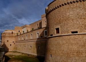 Bastioni del Castello di Corigliano d'Otranto