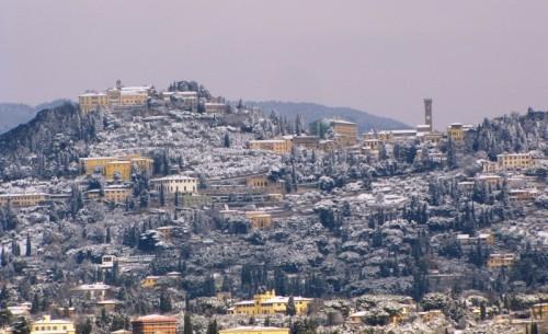Fiesole - La neve su Fiesole