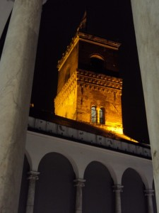 La torre Grimaldina del Palazzo Ducale