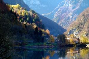Il lago di Pontet