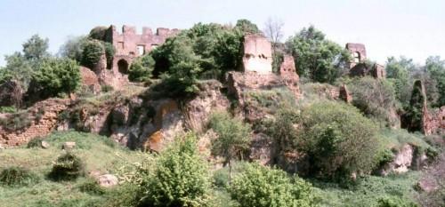 Canale Monterano - rovine tra i cespugli