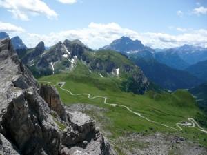 Passo Giau dall Rifugio Averau