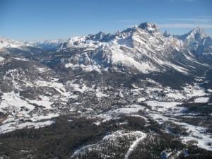 Cortina e la conca ampezzana