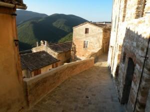 Castello di Avacelli All'alba
