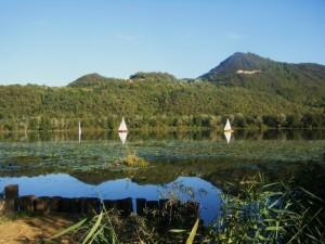 Gita sul lago