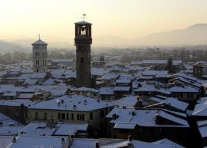"""La Neve…..La Nebbia…..Il Tramonto….e Lucca diventa """"Splendida""""!!!"""