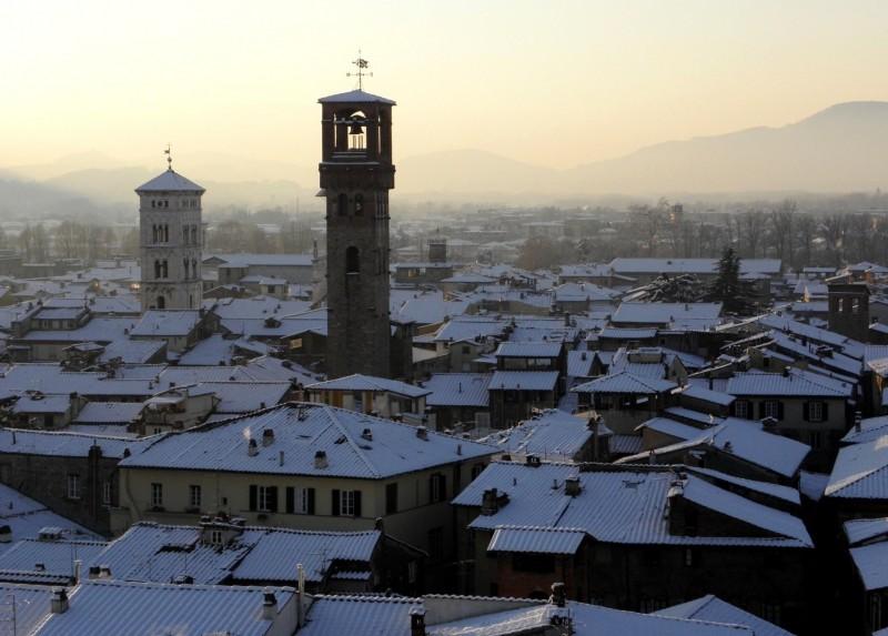 """''La Neve…..La Nebbia…..Il Tramonto….e Lucca diventa """"Splendida""""!!!'' - Lucca"""