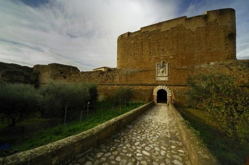 Sorano - Fortezza Orsini ingresso superiore