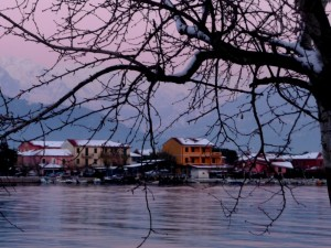 Fiumaretta…insolito inverno…