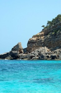 Il mare di Cala Mariolu