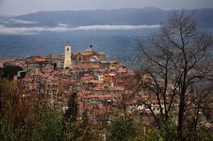 Monte Compatri, vista da S. Silvestro