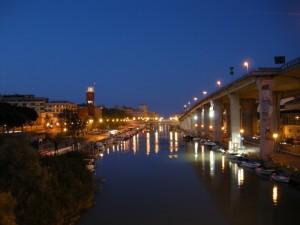 Il Porto-Canale sul Fiume Pescara
