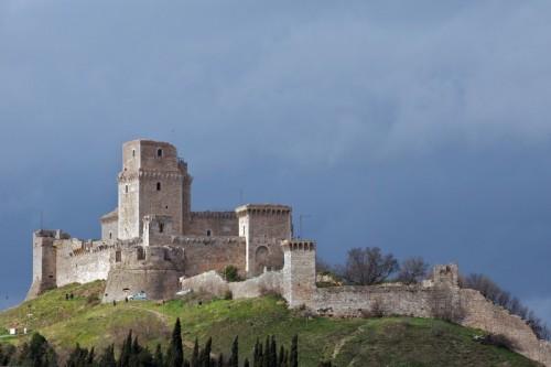 Assisi - Zoommando sulla Rocca