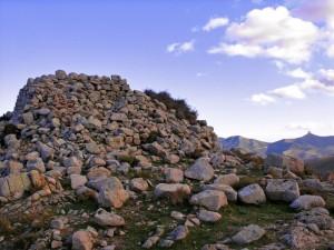 Il nuraghe più alto: sotto punta Lamarmora