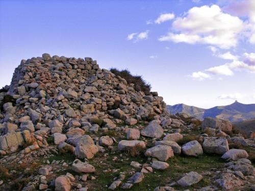 Arzana - Il nuraghe più alto: sotto punta Lamarmora