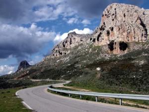 Monte Albo: versante occidentale