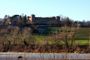 il castello al di là del trebbia