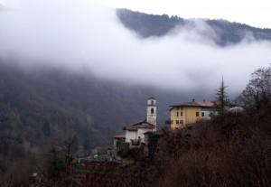 San Nicolo' nella nebbia