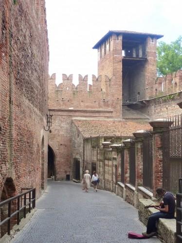 Verona - Il Ponte nel Castello.....