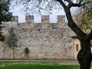Le mura dall'interno