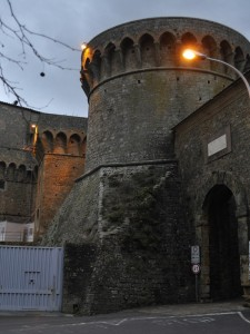 la fortificazione  con la porta a Selci
