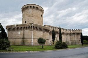 Il castello di Ostia Antica