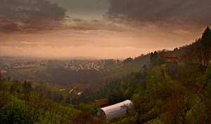 Pioggia in arrivo a Montevecchia