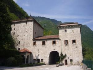 Il castello in riva al Piave