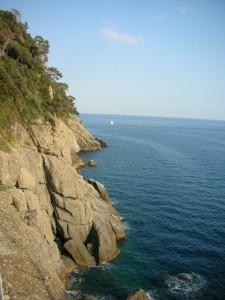 Portofino - Scogli a picco