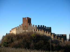 Soave - Castello (presa stretta)