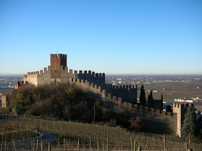 ''Soave - Castello (presa panoramica)'' - Soave