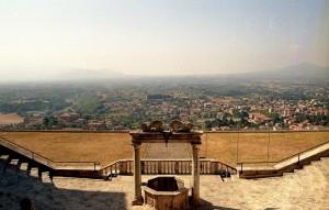Panorama dal Palazzo Barberini