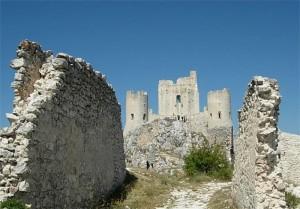 Castello di Rocca Calascio lato sud