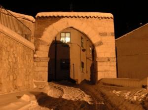 Rocca di Mezzo porta della Morge.