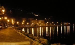 Sulle rive del lago di Garda.