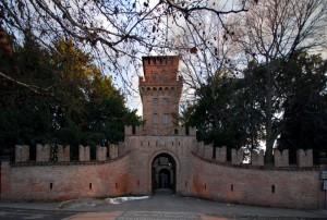 Ingresso castello di Urgnano