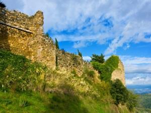 Mura perimetrali borgo medioevale