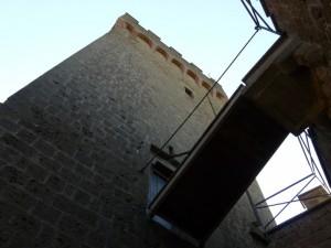 Antico ponte levatoio del Castello - XII° secolo -