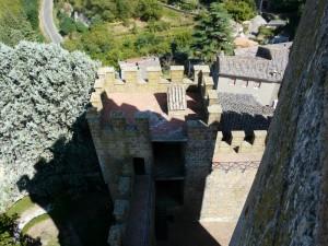 camminamenti di guardia del Castello di Proceno -XII° secolo-