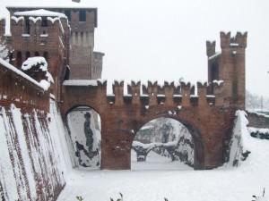 Castello Sforzesco ponte levatoio