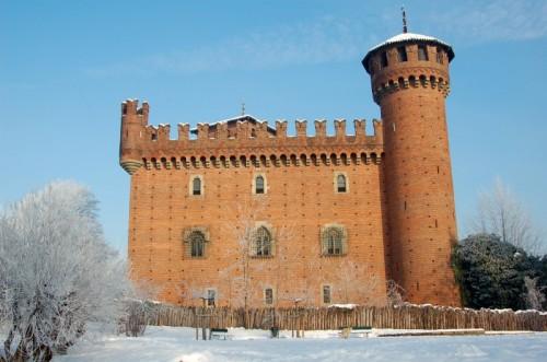 Torino - La neve e il castello