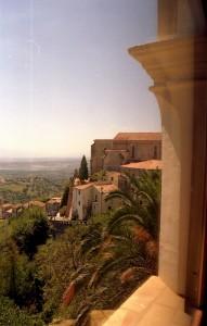 Dal castello di Altomonte